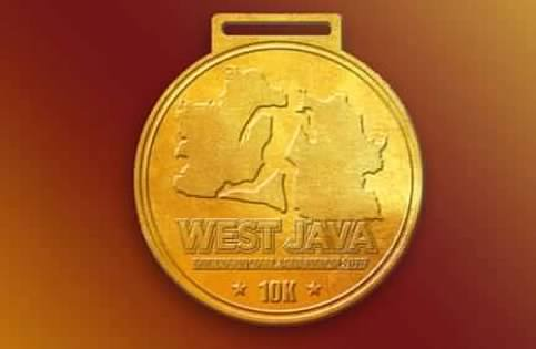 Eco West Java Marathon Medal